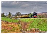Steam on the North Yorks Moors Railway, Acrylic Print