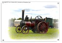 Steam Traction Engine, Acrylic Print