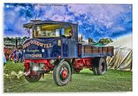 Vintage Transport, Acrylic Print