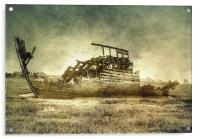 Abandoned, Acrylic Print