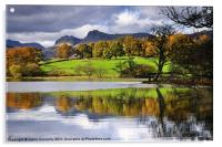Reflections At Loughrigg Tarn, Acrylic Print
