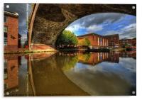 Castlefield, Manchester, Acrylic Print
