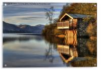 Ullswater Boathouse, Acrylic Print
