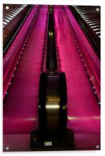 The Escalator, Acrylic Print