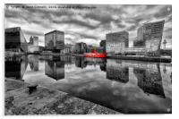 Canning Dock, Liverpool, Acrylic Print