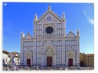 Santa Croce Church, Acrylic Print