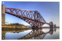North Queensferry Reflections, Acrylic Print