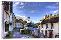 The High Street from East Terrace, Acrylic Print
