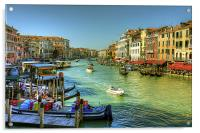 Life in Venice, Acrylic Print