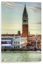 Campanile di San Marco, Acrylic Print