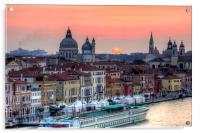 Venetian Dawn, Acrylic Print