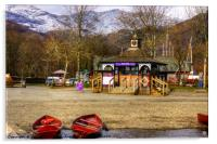 Boat Hire Booth, Acrylic Print