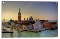 San Giorgio Maggiore, Acrylic Print