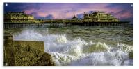 Memories Of The Old West Pier , Acrylic Print