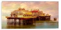 The Last Days Of The West Pier, Acrylic Print