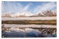 Loch Lochy in Winter, Acrylic Print