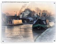 Frost and Smoke, Acrylic Print