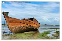 Decommissioned Trawler, Acrylic Print