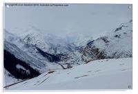 Swiss Alps. , Acrylic Print
