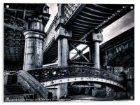 Castlefield Viaducts, Acrylic Print
