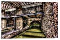 Grocers Warehouse Castlefield Manchester, Acrylic Print