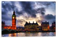 Big Ben, Acrylic Print
