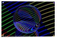 Glass Ball lights, Acrylic Print