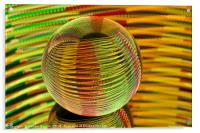 Round and round we go., Acrylic Print