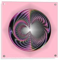 Circle of chaos, Acrylic Print