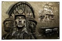 Welsh Mining Heritage, Acrylic Print