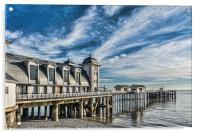 Penarth Pier, Acrylic Print