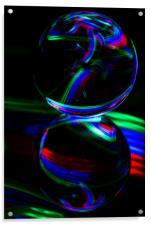 The Light Painter 16, Acrylic Print