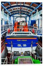 Tenby Lifeboat 1, Acrylic Print