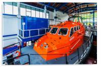 Tenby Lifeboat 2, Acrylic Print