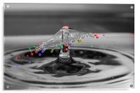 Colour Drops, Acrylic Print