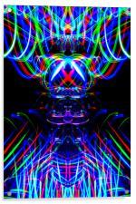 The Light Painter 53, Acrylic Print