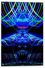 The Light Painter 61, Acrylic Print