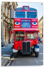 The Bus To Putney, Acrylic Print