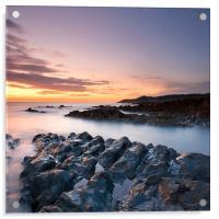 Morte Point Sunset, Acrylic Print