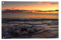 Sunset Over Fuerteventura, Acrylic Print