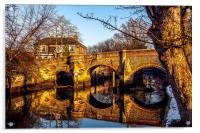 Bishops Bridge, Acrylic Print