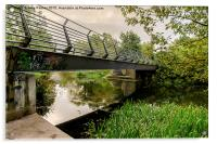 Bridge to the City, Acrylic Print
