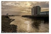 The Mouth of the Tawe, Acrylic Print
