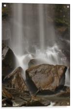 Rocks n Water., Acrylic Print