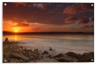 Stormy Sunset, Acrylic Print