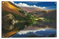 morning by Llyn Gwynant, Acrylic Print