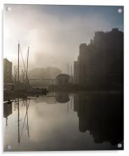 Foggy Morning, Acrylic Print