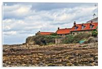 Lighthouse Keeper's Cottages, Acrylic Print