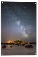 Milky Way at the Mount, Acrylic Print
