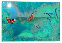 The pond, Acrylic Print